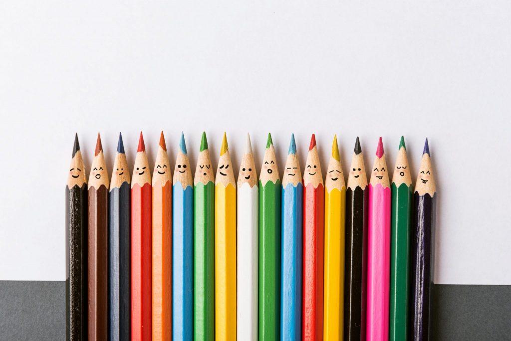 Inclusion: Colored Pencils